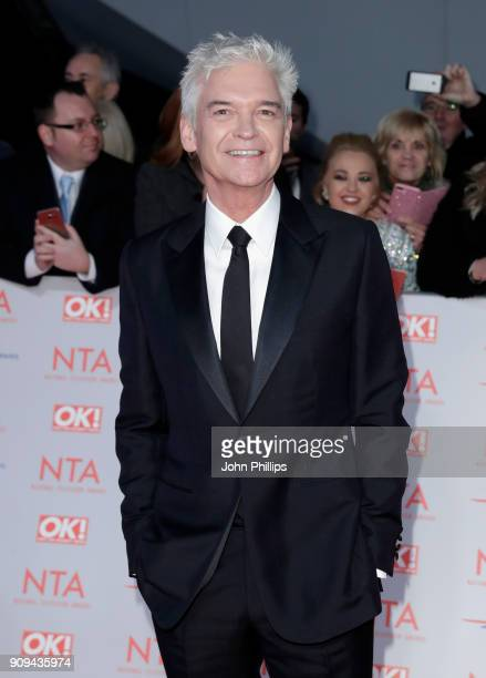 Phillip Schofield attends the National Television Awards 2018 at the O2 Arena on January 23 2018 in London England