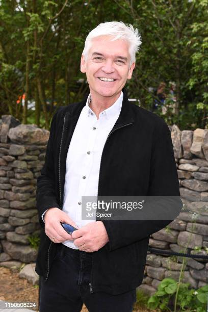 Phillip Schofield attends the RHS Chelsea Flower Show 2019 press day at Chelsea Flower Show on May 20 2019 in London England