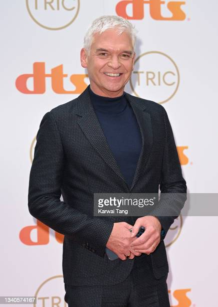 Phillip Schofield attends The TRIC Awards 2021 at 8 Northumberland Avenue on September 15, 2021 in London, England.