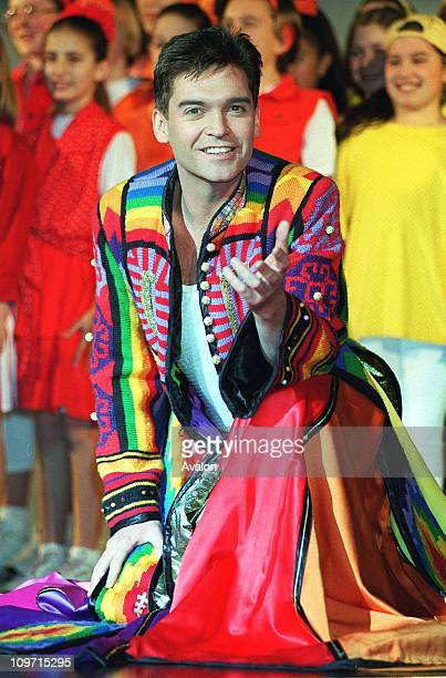 Phillip Schofield British Presenter and Entertainer Stars in the musical 'Joseph and the Amazing Technicolor Dreamcoat'