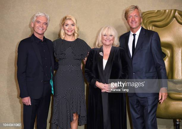 Phillip Schofield Holly Willoughby Richard Madeley and Judy Finnigan attend a BAFTA tribute evening to long running TV show This Morning at BAFTA on...