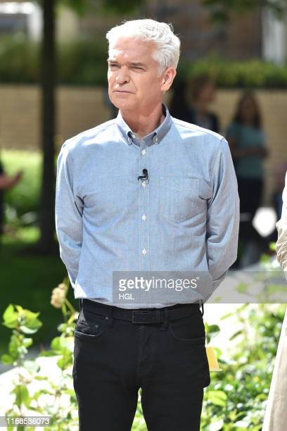 Phillip Schofield seen filming on June 27 2019 in London England