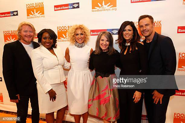 Phillip Sweet Margarette Purvis Kimberly Schlapman Gail Grimmett Karen Fairchild and Jimi Westbrook attend the Food Bank For New York City Can Do...
