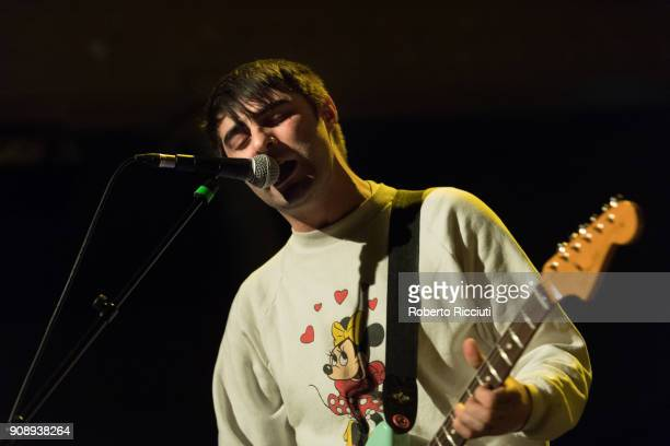 Phillip Taylor of Paws performs on stage at The Queen's Hall on January 22, 2018 in Edinburgh, Scotland.