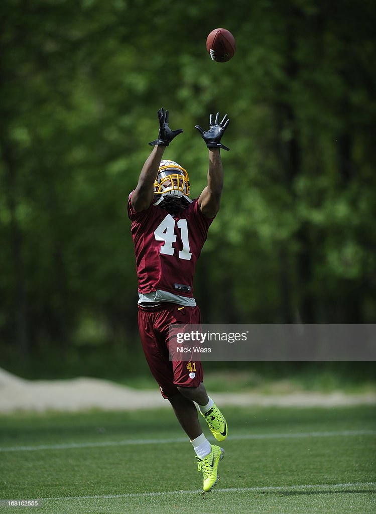 Washington Redskins Rookie Camp : News Photo