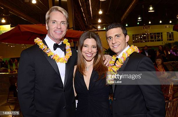 Phillip Watson Rochelle and Michael Steinberg attend Philadelphia Style Magazine Cover Event Hosted By Tory Burch at Pennsylvania Convention Center...