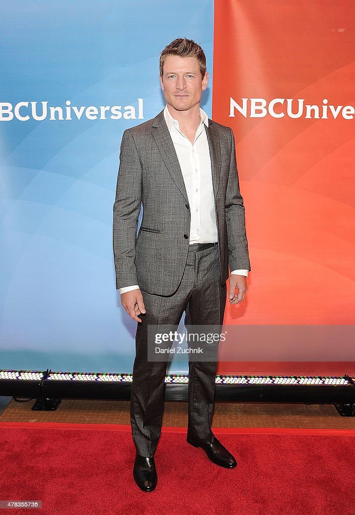 Phillip Winchester attends the 2015 NBC New York Summer Press Day at Four Seasons Hotel New York on June 24, 2015 in New York City.