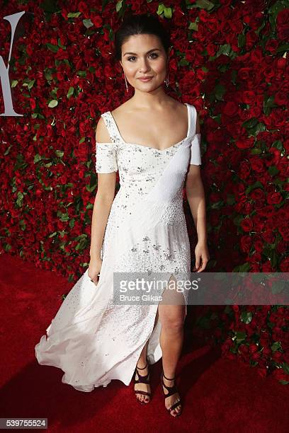 Phillipa Soo attends 70th Annual Tony Awards Arrivals at Beacon Theatre on June 12 2016 in New York City