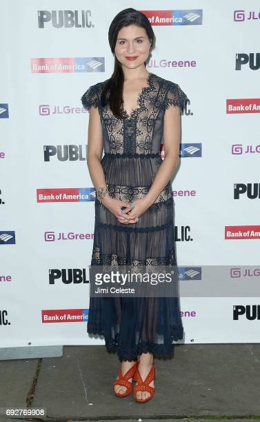 Phillipa Soo attends the 2017 Public Theater Gala at Delacorte Theater on June 5 2017 in New York City