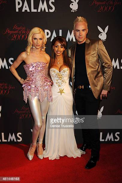 Phillipe Blond 2009 Playmate of the Year Ida Ljungqvist and David Blond arrives at Playboy's 50th Annual Playmate of the Year Announcement and...