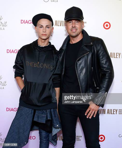 Phillipe Blond and David Blond attend 2019 Ailey Spirit Gala at David Koch Theatre at Lincoln Center on June 13 2019 in New York City
