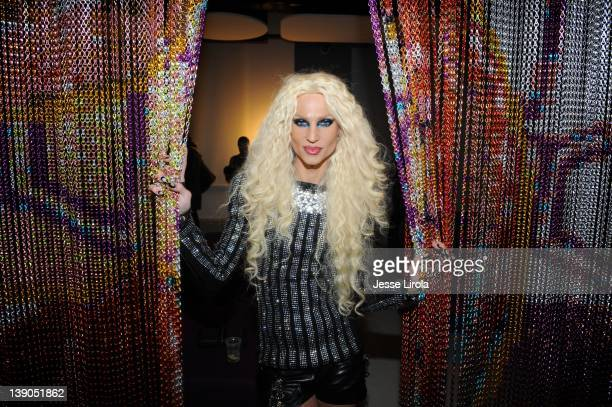 Phillipe Blond attends the The Blonds Fall 2012 fashion show after party during MercedesBenz Fashion Week at Yotel on February 15 2012 in New York...