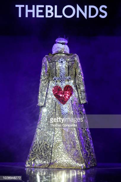 Phillipe Blond walks the runway during Disney Villains x The Blonds fashion show at Gallery I at Spring Studios on September 7 2018 in New York City