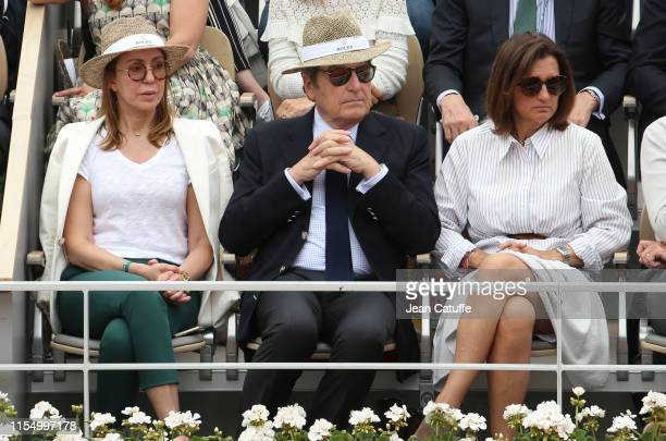 Phillipe Schaeffer Director of Rolex France attends the men's final during day 15 of the 2019 French Open at Roland Garros stadium on June 9 2019 in...