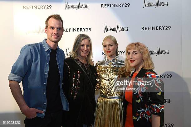 Phillippe von Borries Wanda Gierhart actress Kate Bosworth and Piera Gelardi attend Refinery29's School of Self Expression opening night party...