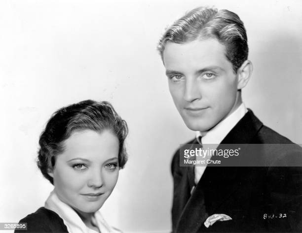 Phillips Holmes and Sylvia Sidney as they appeared in the Paramount film 'An American Tragedy'.