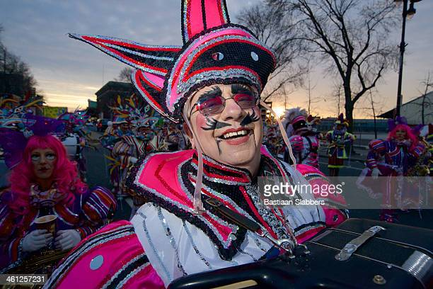 philly mummer - mummers parade stock photos and pictures