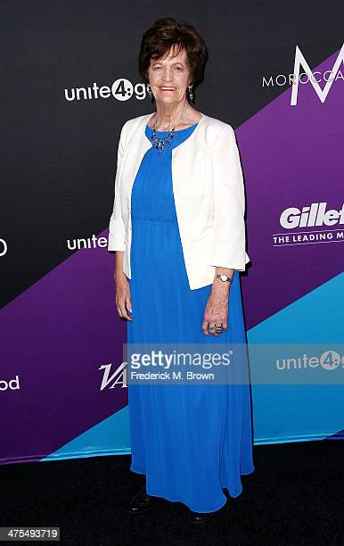 Philomena Lee attends united4 good and Variety Magazine Present united4humanity at Sony Pictures Studios on February 27 2014 in Culver City California