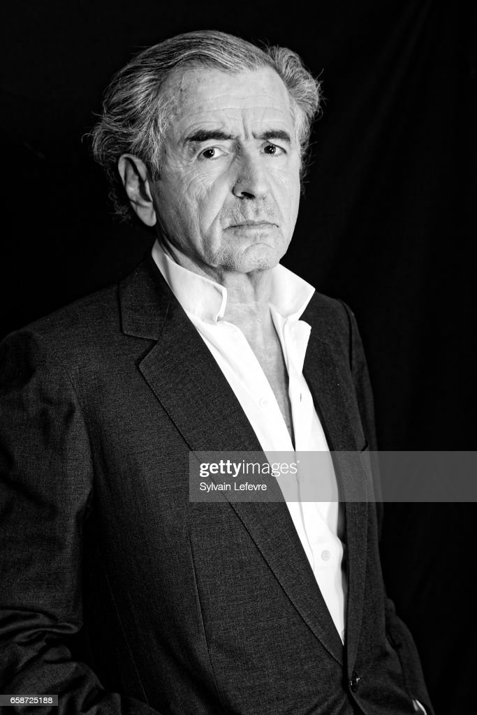 Philosopher Bernard-Henri Levy is photographed for Self Assignment on March 17, 2017 in Valenciennes, France.
