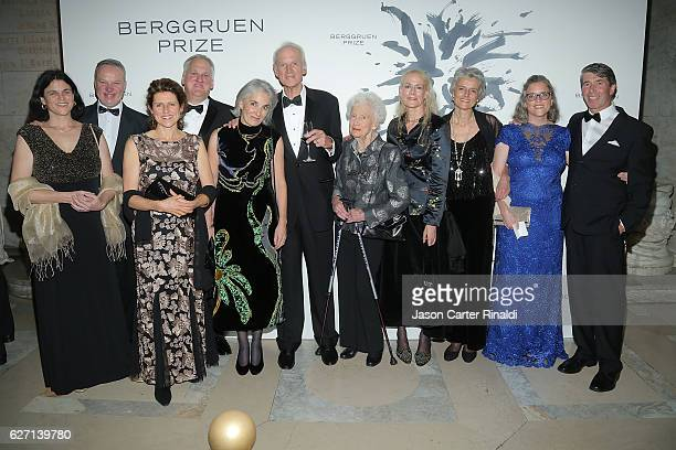 Philosopher Charles Taylor and guests attend The Berggruen Prize Gala Honoring Philosopher Charles Taylor at New York Public Library Astor Hall on...