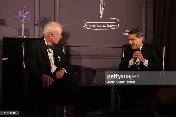Philosopher Charles Taylor and host of CNN Global Public Square Fareed Zakaria attend The Berggruen Prize Gala Honoring Philosopher Charles Taylor at...