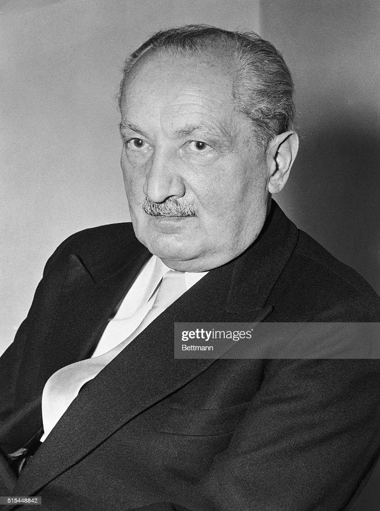 Martin Heidegger : ニュース写真