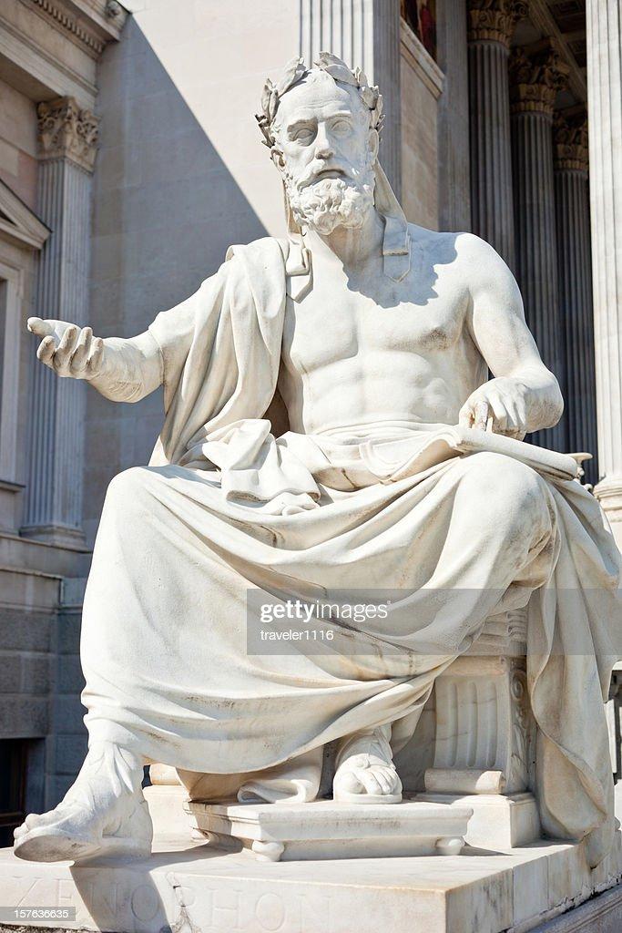 Filosofo Xenophon : Foto stock