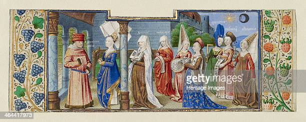 Philosophy Presenting the Seven Liberal Arts to Boethius ca 1465 Found in the collection of the J Paul Getty Museum Los Angeles
