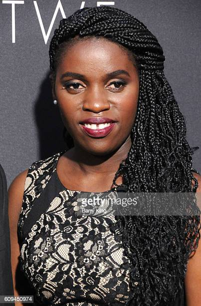 Phiona Mutesi attends the premiere of Disney's 'Queen Of Katwe' at the El Capitan Theatre on September 20 2016 in Hollywood California