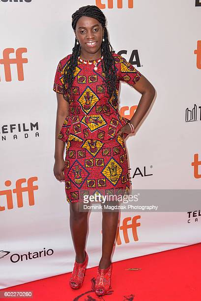 Phiona Mutesi attends the 'Queen of Katwe' premiere during the 2016 Toronto International Film Festival at the Roy Thomson Hall on September 10 2016...