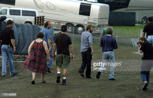 Phish during Phish Coventry Festival 2004 Day 1 at Coventry in Newport Vermont United States