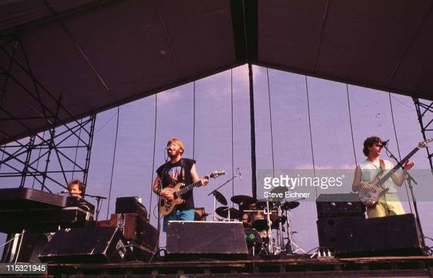 Phish during Phish in Concert 7201991 in New York City New York United States