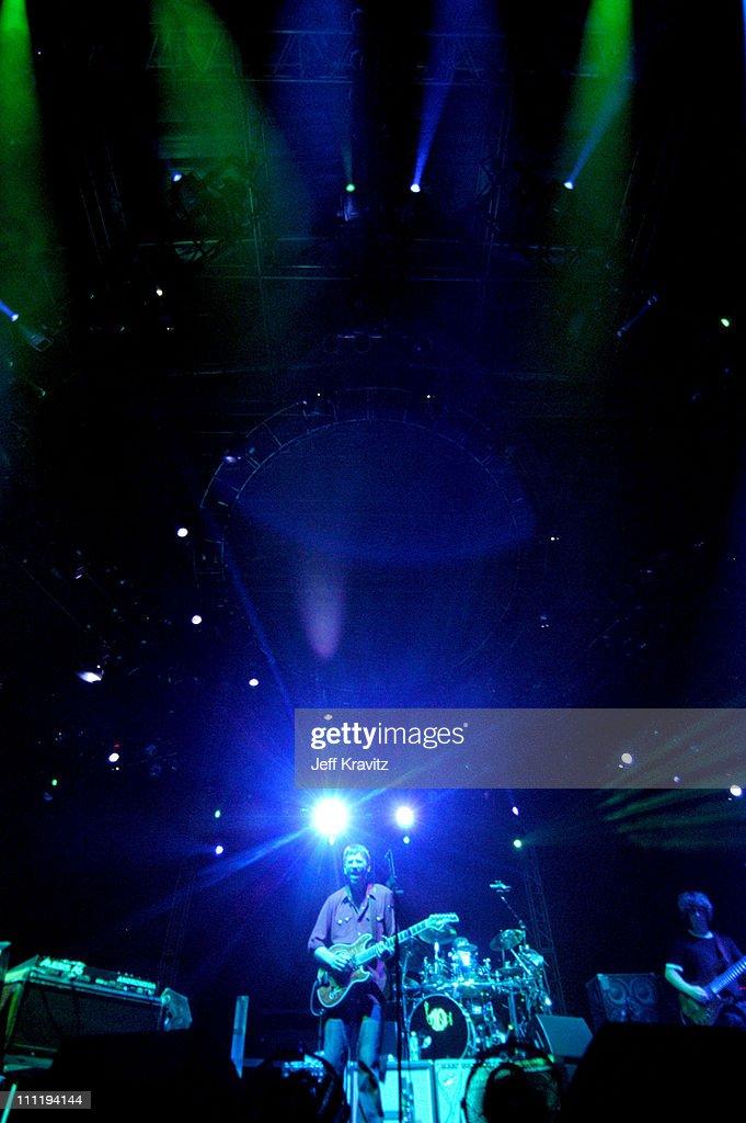 Phish during Phish in Concert - June 18, 2004 at Keyspan Park in New York City, New York, United States.