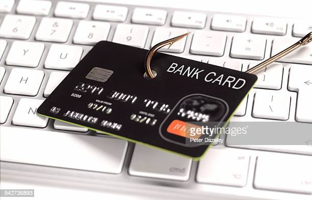 Phishing credit card for information