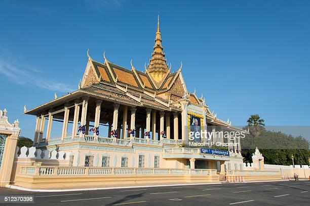 Phnom Penh Royal Palace, Chan Chaya Pavilion, Cambodia