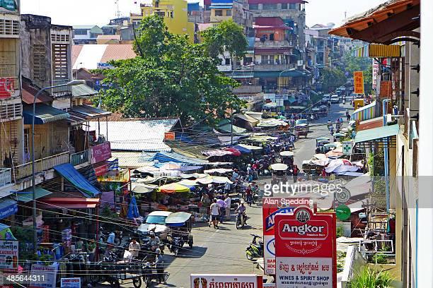 phnom penh street market
