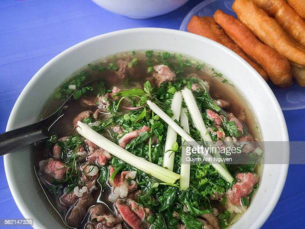 Pho beef noodle soup - vietnamese traditional food