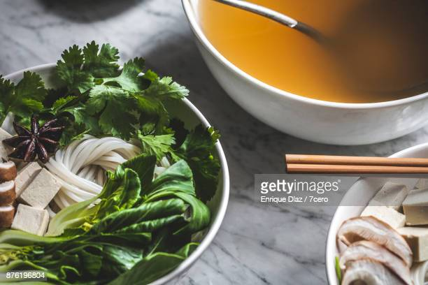 Pho Soup Prep with Star Anise