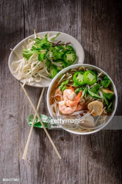 ベトナム スープ ボウル、シーフードのフォー