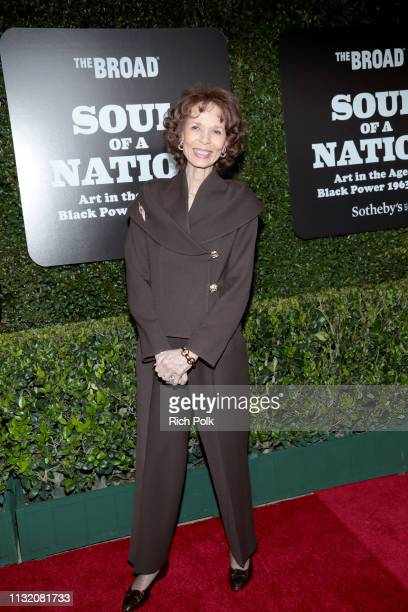 Phoebe Beasley attends The Broad Museum celebration for the opening of Soul Of A Nation Art in the Age of Black Power 19631983 Art Exhibition at The...