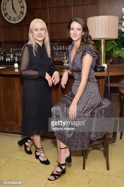 Phoebe Bridgers and Megan Butterworth attend Jo Malone London Celebrates Karen Elson's Birthstones by Duffy at Sunset Tower Hotel on January 8 2019...