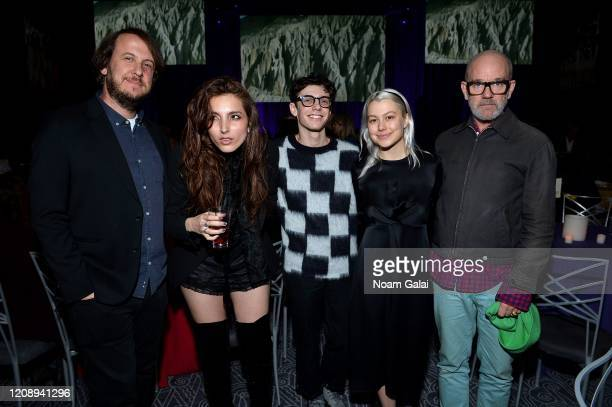 Phoebe Bridgers and Michael Stipe attend the 33nd Annual Tibet House US Benefit Concert Gala After Party on February 26 2020 in New York City