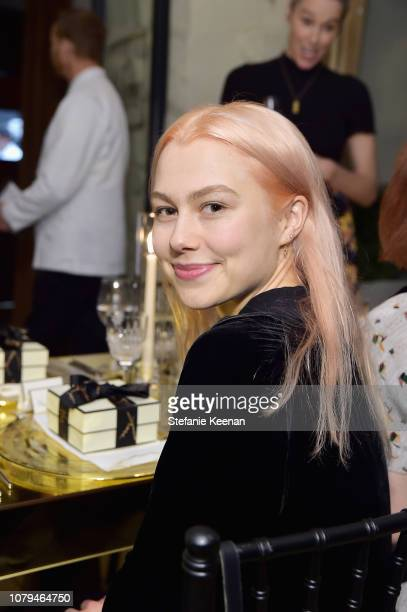 Phoebe Bridgers attends Jo Malone London Celebrates Karen Elson's Birthstones by Duffy at Sunset Tower Hotel on January 8 2019 in West Hollywood...