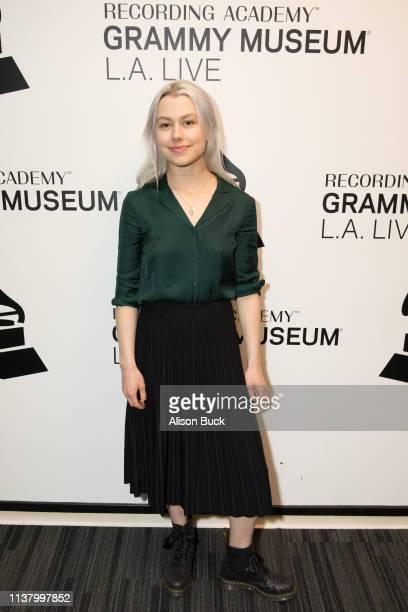 Phoebe Bridgers attends The Drop Better Oblivion Community Center on April 18 2019 in Los Angeles California