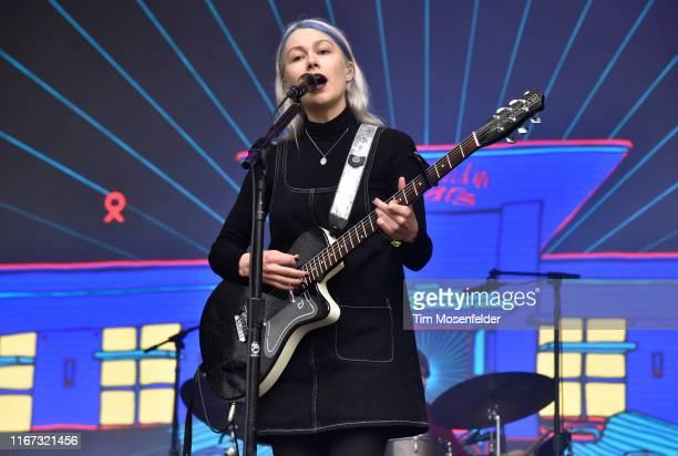 Phoebe Bridgers of Better Oblivion Community Center performs during the 2019 Outside Lands festival at Golden Gate Park on August 10 2019 in San...