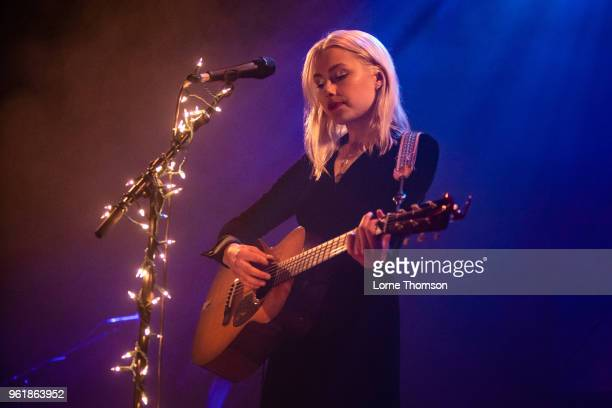 Phoebe Bridgers performs at Islington Assembly Hall on May 23 2018 in London England
