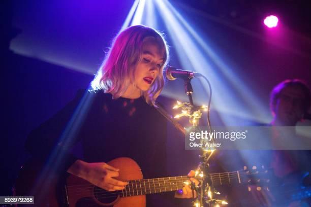 Phoebe Bridgers performs at Lodge Room on December 16 2017 in Los Angeles California