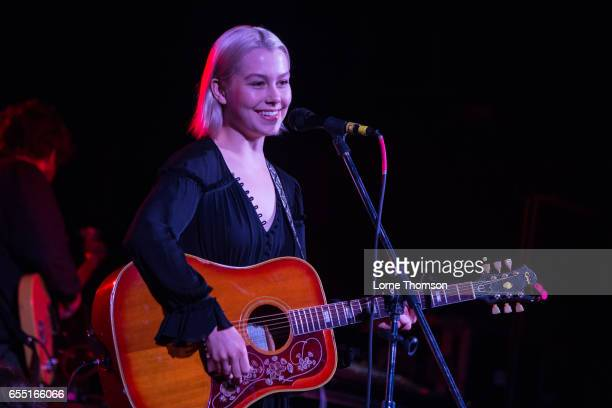 Phoebe Bridgers performs at the Central Presbyterian Church on March 18 2017 in Austin Texas