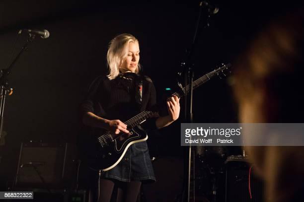 Phoebe Bridgersopens for BNQT at Cafe de la Danse on October 30 2017 in Paris France