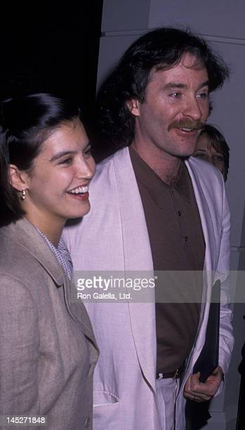 Phoebe Cates and Kevin Kline attend the nominees luncheon for 61st Annual Academy Awards on March 21 1989 at the Beverly Hilton Hotel in Beverly...